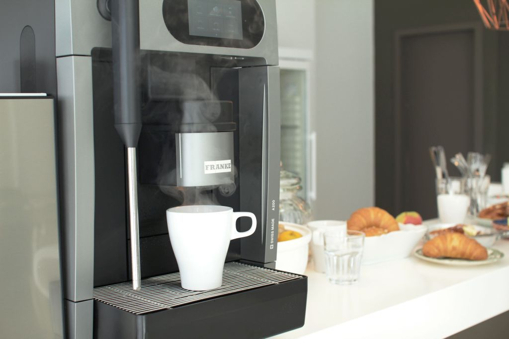 We only serve freshly brewed organic fair trade coffee... delicious!