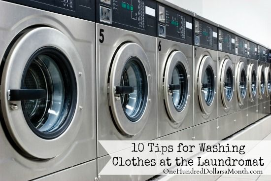 10 Tips For Washing Clothes At The Laundromat With Images Laundry Equipment Washing Clothes Coin Laundry