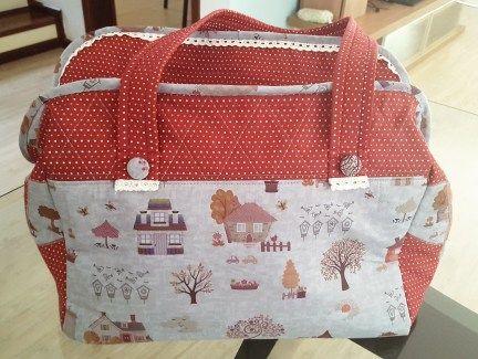 Acompanhe o passo à passo de como fazer uma bolsa grande de tecido ... 244d3c9d08b