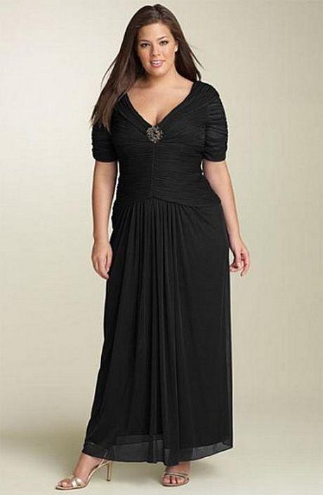 Imagenes de vestidos de noche para mujeres gorditas