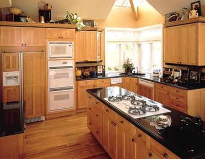 Superior I Donu0027t Know If We Can Go With Black Counters...they. Kitchen Cabinets  PicturesMaple ...
