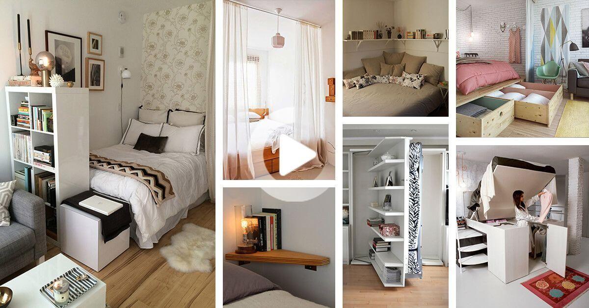 Kleine Schlafzimmerdesigns und  ideen sind perfekt, um ...