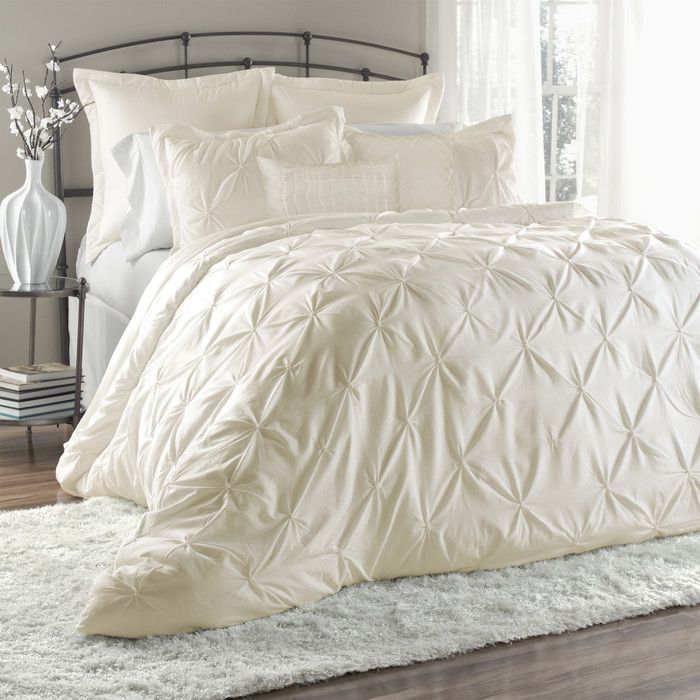 Lush Decor Lux 6 Piece Comforter Set Reviews Wayfair