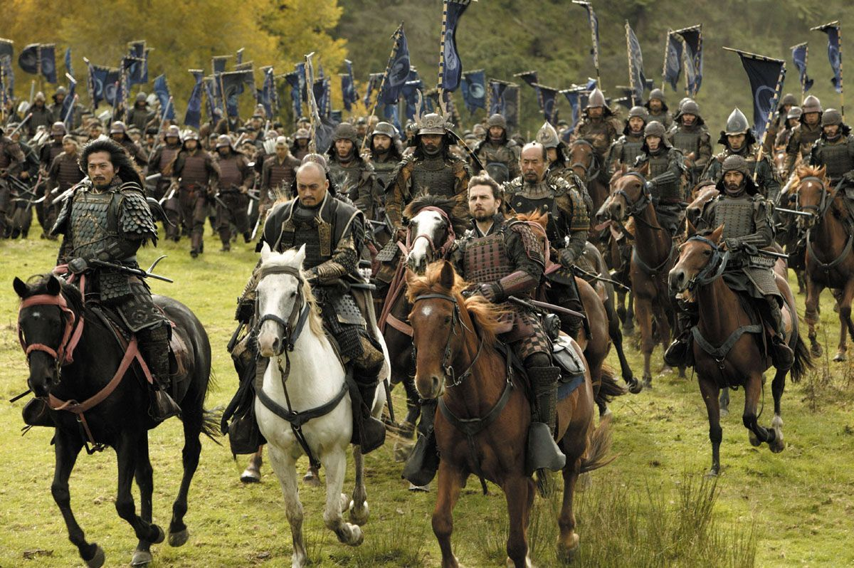 Movie Review The Last Samurai (2003) The Ace Black Blog