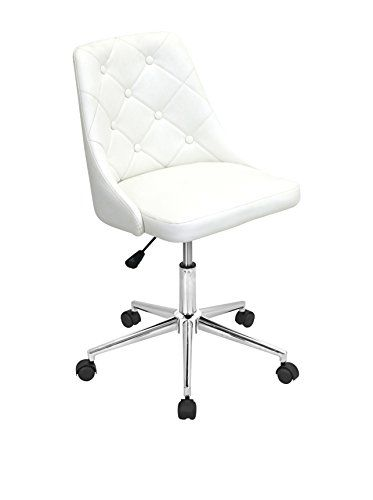 7a211ef0194  150 amazon Marche Office Chair Eggshell Off White LumiSource