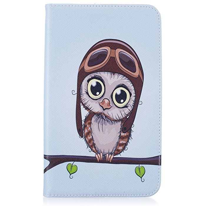 Qissy®Leather Animal Pattern protective Case cover skin for SAMSUNG Galaxy Tab A 7.0 SM-T280 (10)