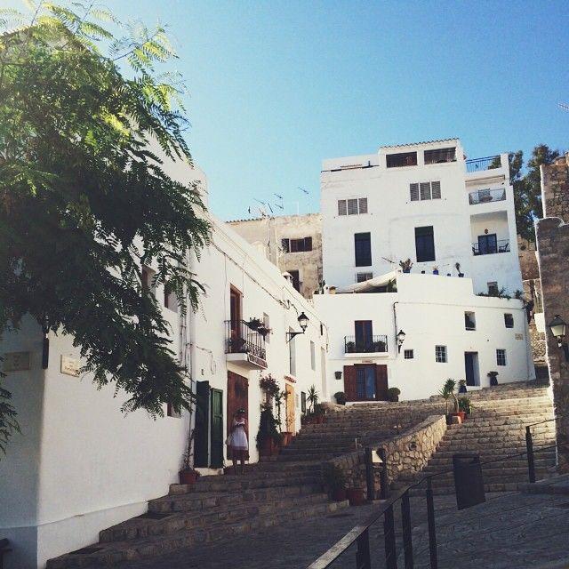 Ibiza // Séscalinata // oude stad Ibiza // frvrdrmng - @frvrdrmng // 29-08-2014
