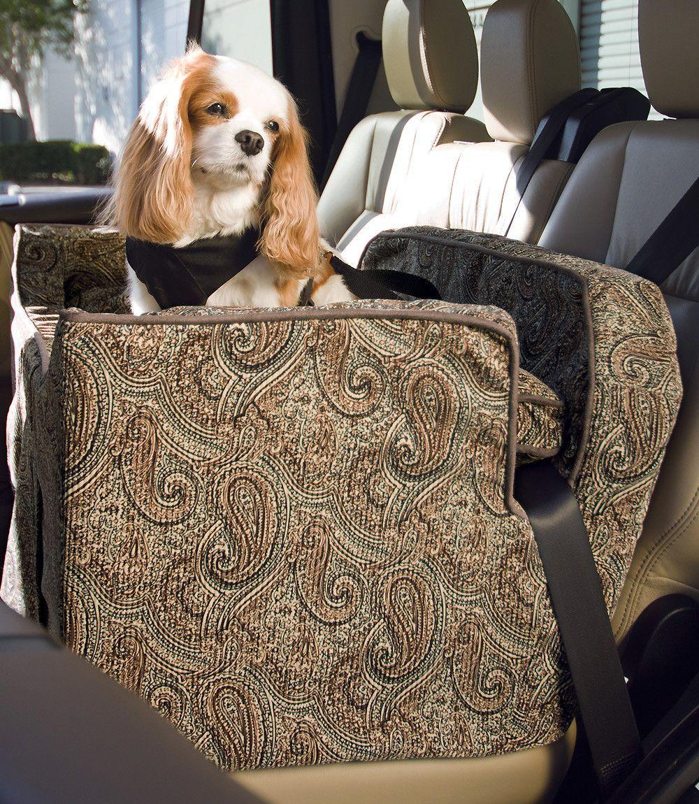 Dog Car Seat Microsuede - Large | Pet car seat, Car seats and Dog ...