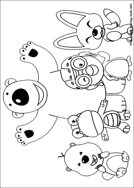 Pororo coloring picture coloring pinterest coloring for Pororo coloring pages