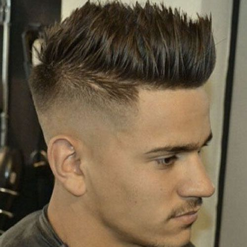 High Skin Fade With Spiky Hair Mens Hairstyles Mens Hairstyles Thick Hair Mens Hairstyles Short
