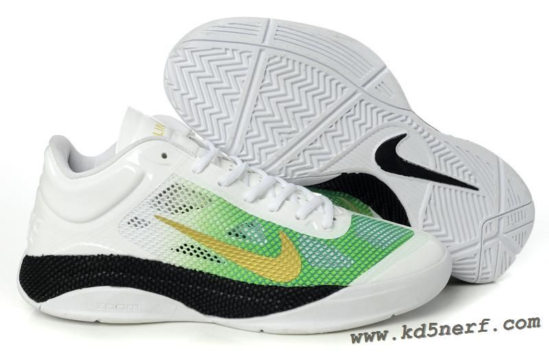 fc6a07de9f98c ... inexpensive nike id zoom hyperfuse low white green by jeremy lin  sneakers 5cac9 8e2ec