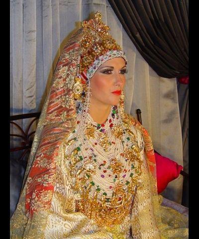 Robe marocaine pour votre mariage , Robes traditionnelles marocaines