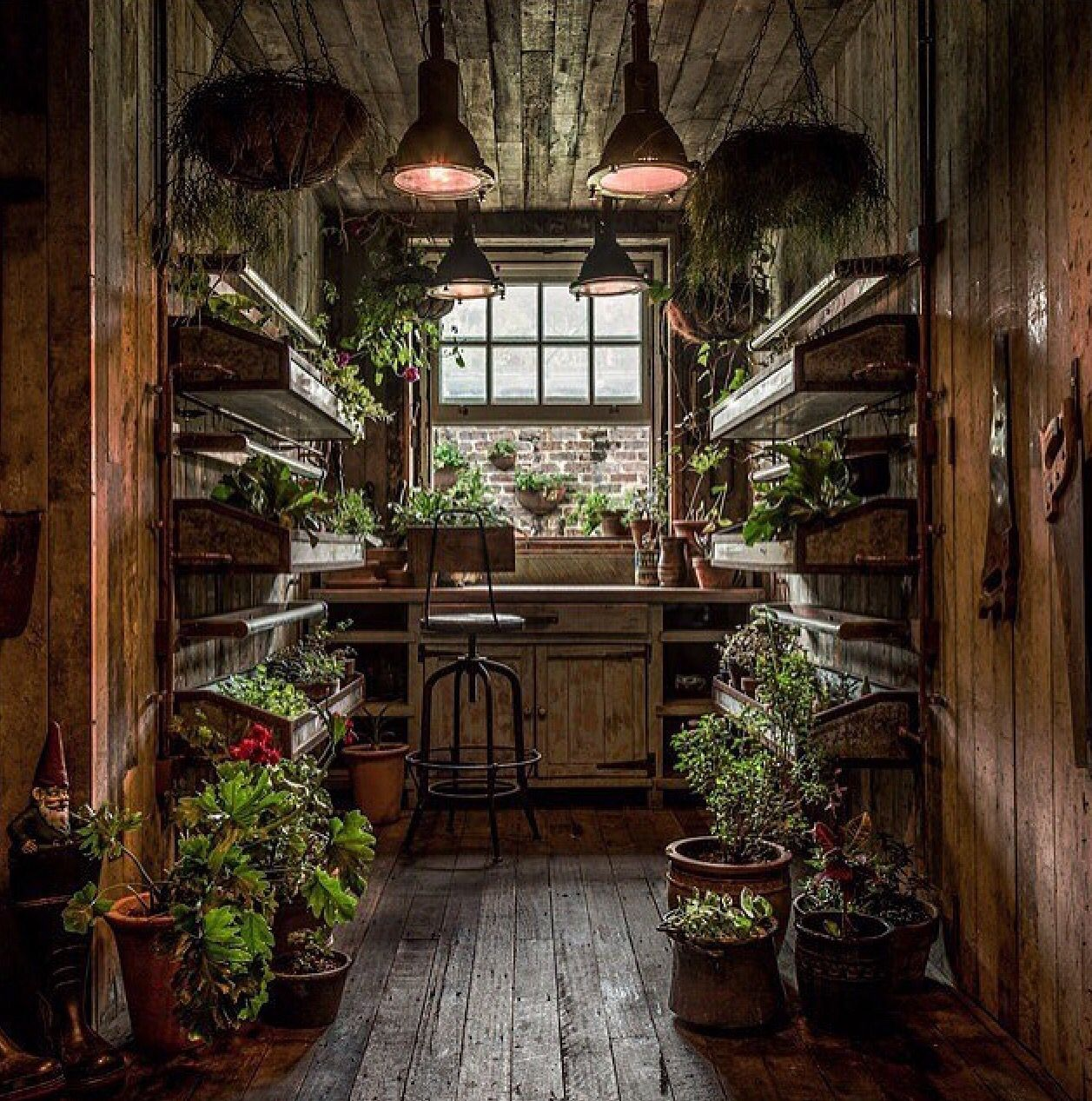Pin by Lorraine Terry on Potting Sheds, She-sheds, Greenhouses ...