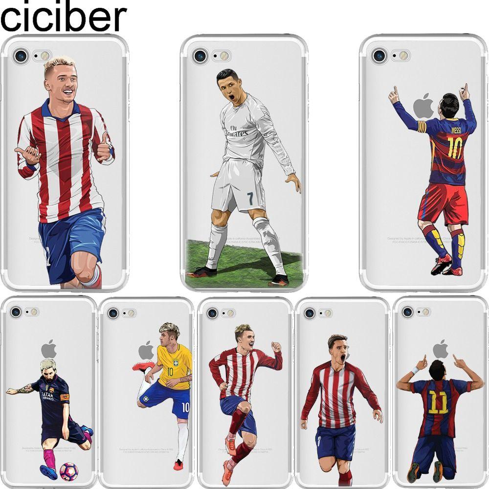 coque joueur de foot iphone 7