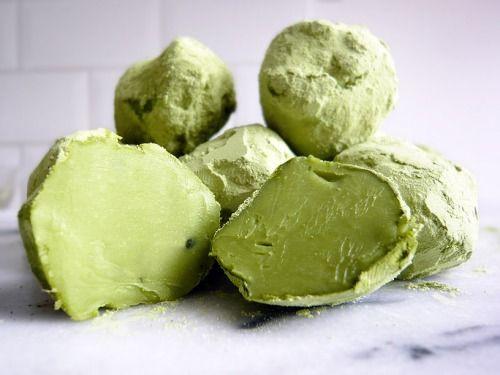 Trufas de Té Verde