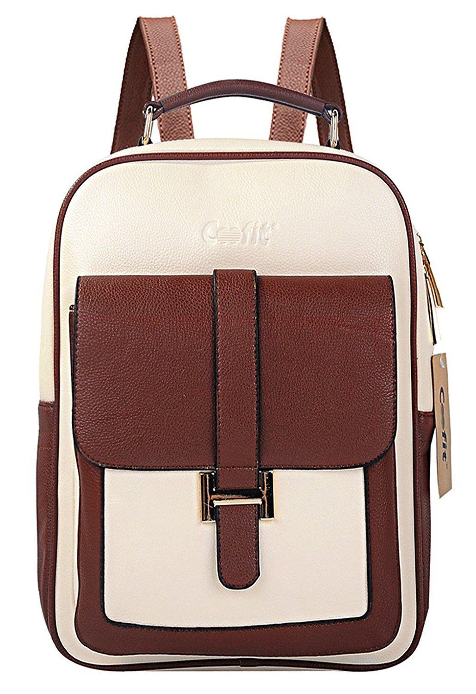 Coofit Fashion S Leather Backpack College School Bag Tablet Book Purse Visit The Image Link More Details