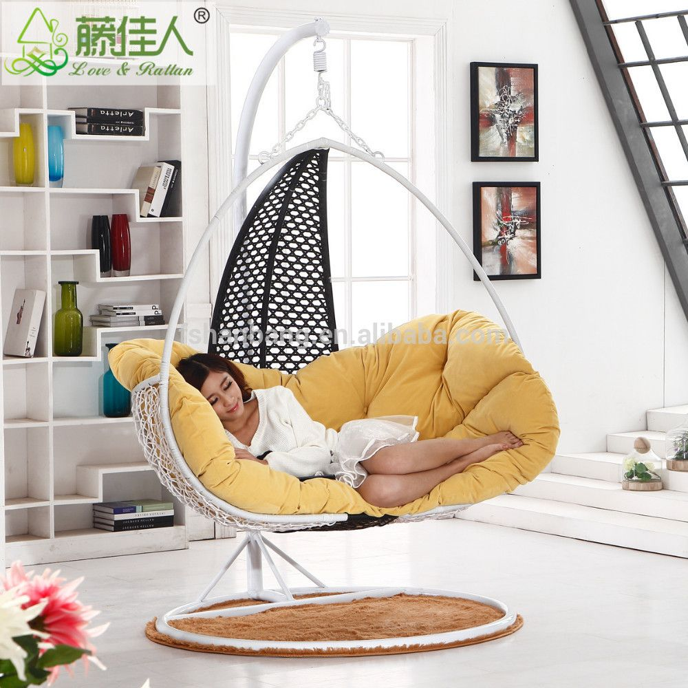 Hanging Chair For Bedroom Entrancing Indoor Rattan Hanging Chair Swing  Buy Hanging Chair Hammock Review