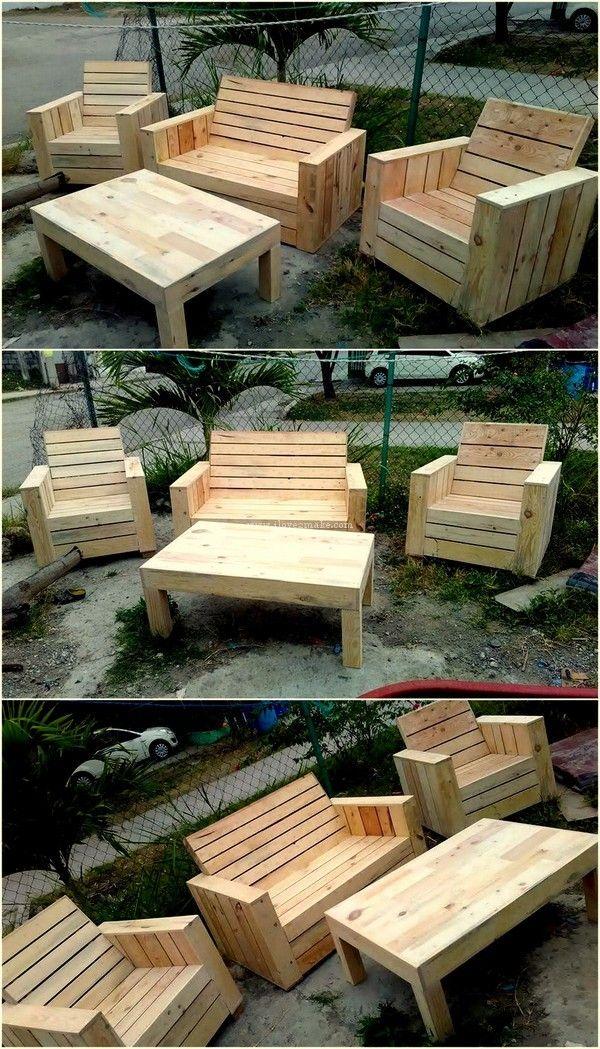Lovely Pallet Diy Furniture Design Pallet Outdoor Pallet Furniture Outdoor Outdoor Furniture Plans