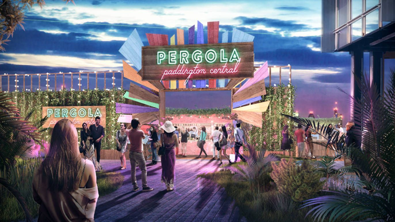 The Pergola On The Roof Team Are Bringing Alfresco Street Food To Paddington Pergola On The Roof Pergola Rooftop Bar