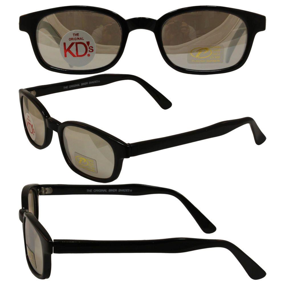 492750bfa9 Original KD s Biker Sunglasses with Clear Silver Mirror Lenses  KDs ...