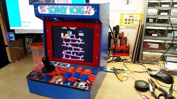 Mini JAMMA Arcade Machine   Arcade, Arcade machine, Arcade ...