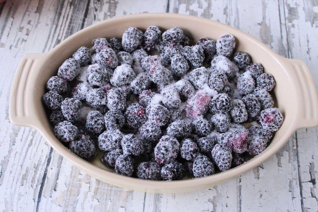 Easy blackberry cobbler recipe easy blackberry cobbler