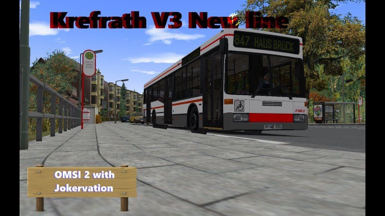 OMSI 2 with Jokervation | Krefrath V3 | 847 | MB O405NG 3 doors | Omsi 2