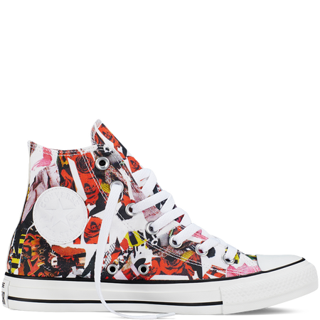 831a37398af6 Converse -Chuck Taylor All Star Pop Art Print-Pink FreezeHi Top ...