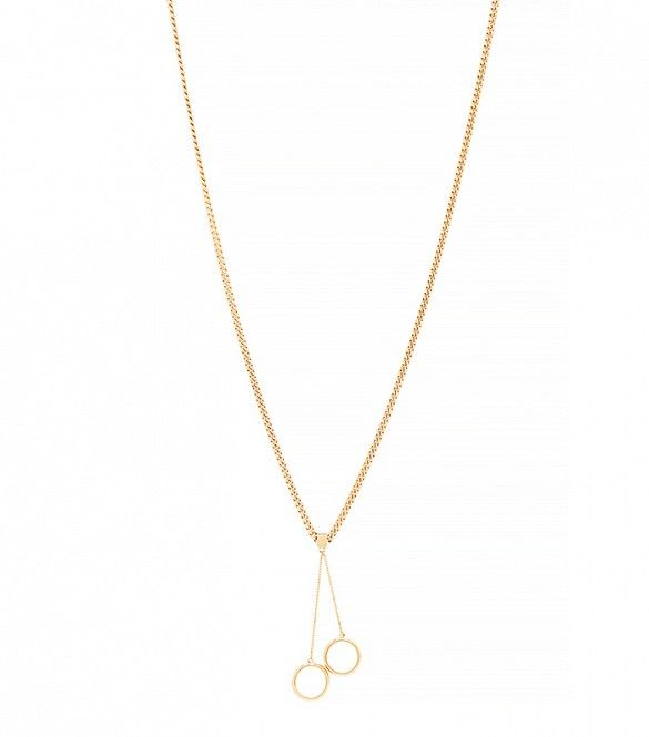 Chloé Carly Pendant Necklace in Gold