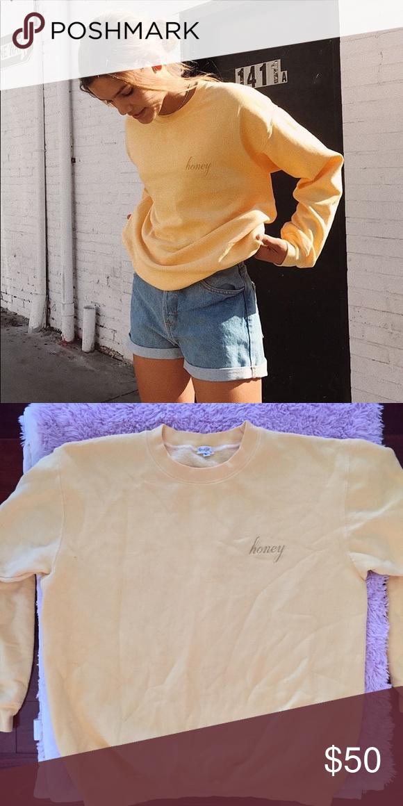 Brandy Melville Honey Sweater New Without Tags John Galt Brand