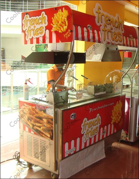 We make customized French fries kiosk | Coffee shops in 2019 | Food