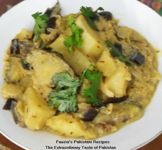 Eggplant potato recipes easy