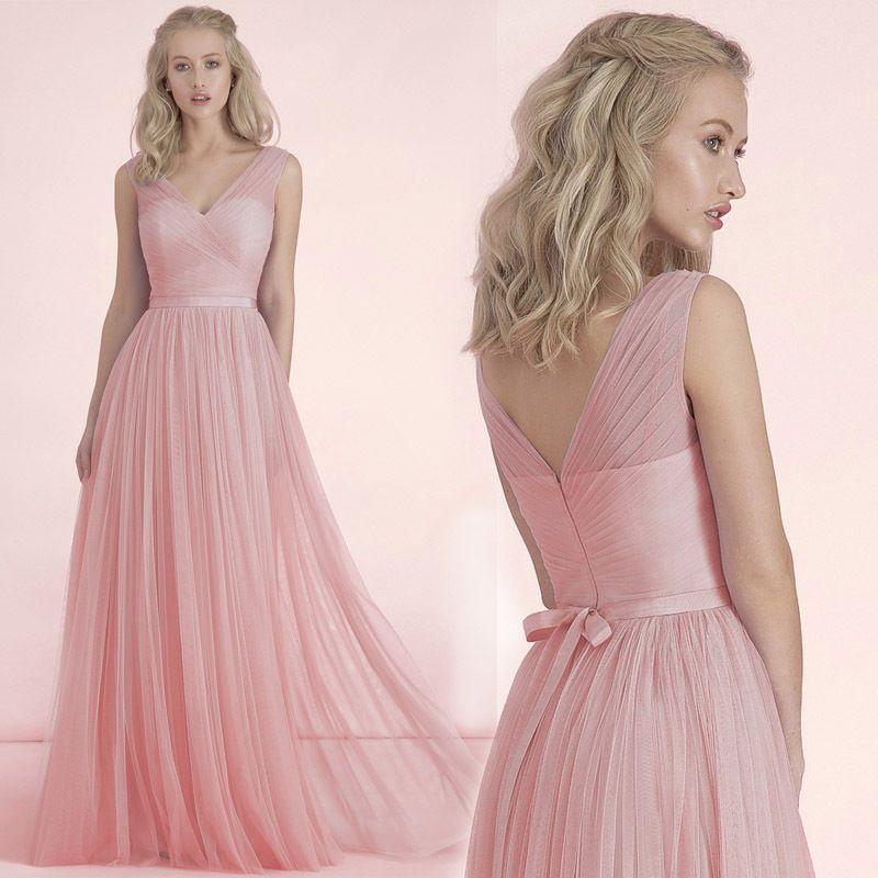 Resultado de imagen para vestidos de 15 largos color rosa cuarzo ...