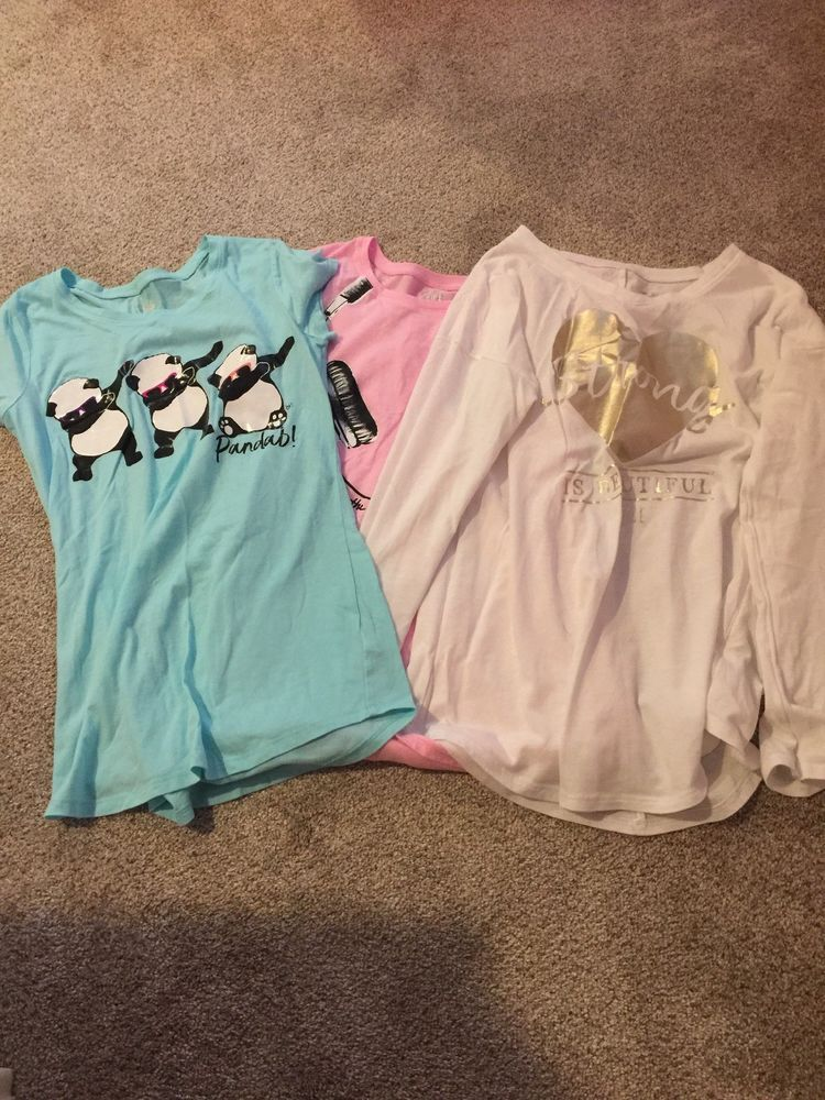 83de953769905 girls justice size 14/16 lot of Shirts #fashion #clothing #shoes ...