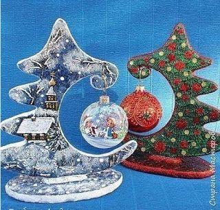 Aprende cmo hacer adornos de navidad reciclando cartn Belleza y