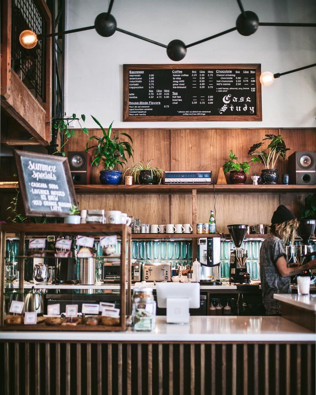 Case Study Cafe Portland Oregon Coffee Shop Decor Coffee Shops Interior Study Cafe