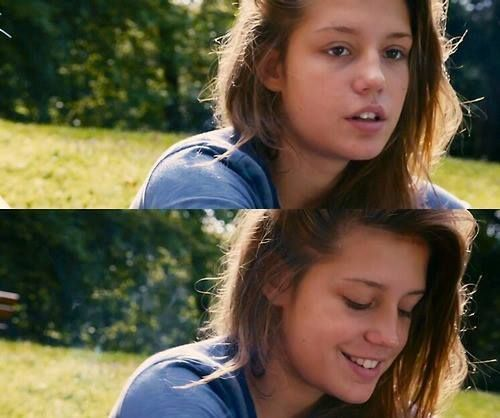 Adele Exarchopoulos Blau Ist Eine Warme Farbe I Love The Way You Smile Adele Blue Is The Warmest Colour Pretty Celebrities Warm Colors