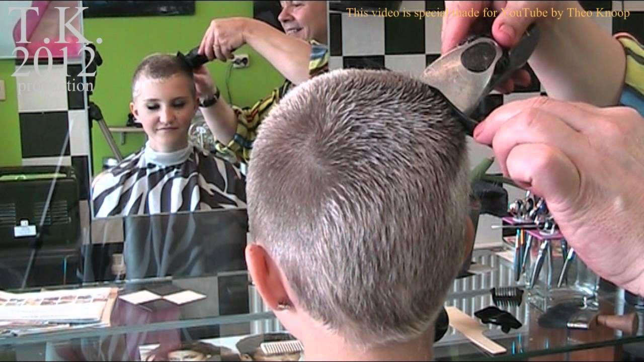 Short Hair Teen Tube