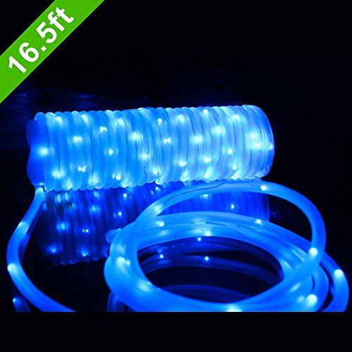 Silverylake 30m 100ft 1080 Leds Rope Light Home In Outdoor Christmas Decorative Party Lighting Blue Led Rope Lights Flexible Led Light Rope Light