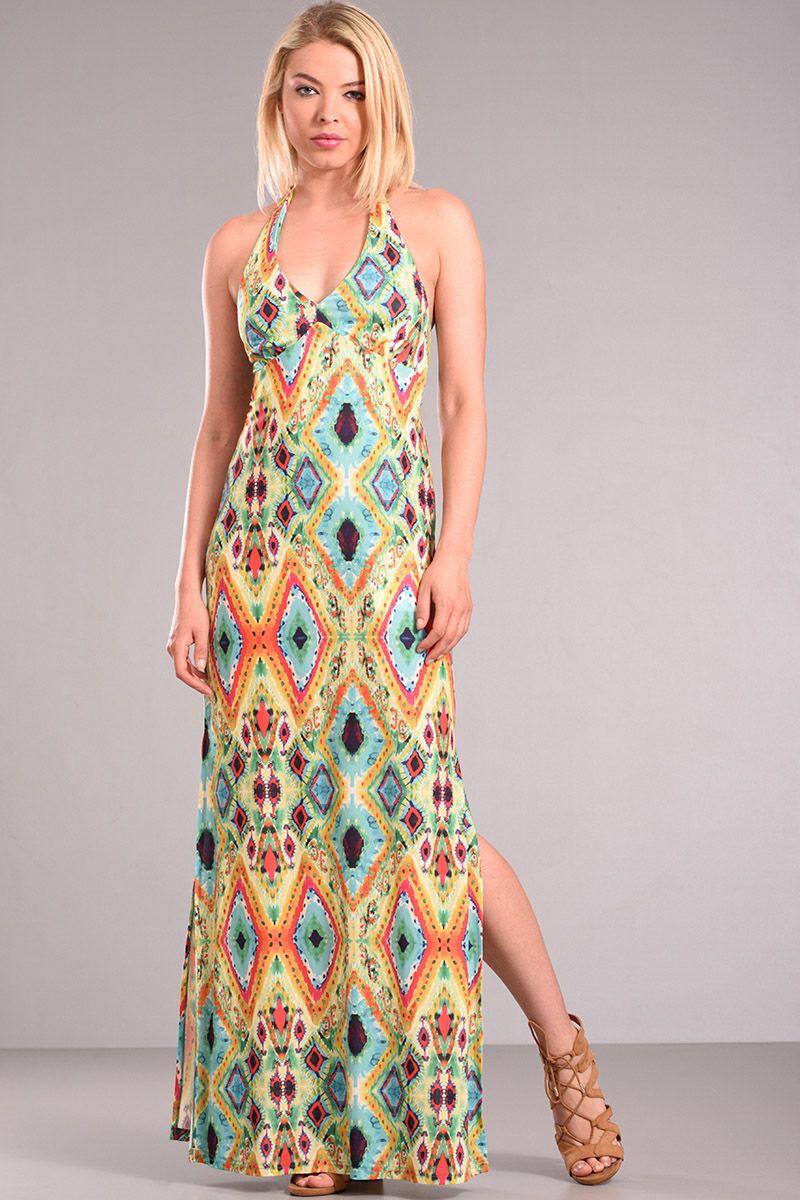 8bd5507d9ad1 Φόρεμα με σκίσιμο στο πλάι