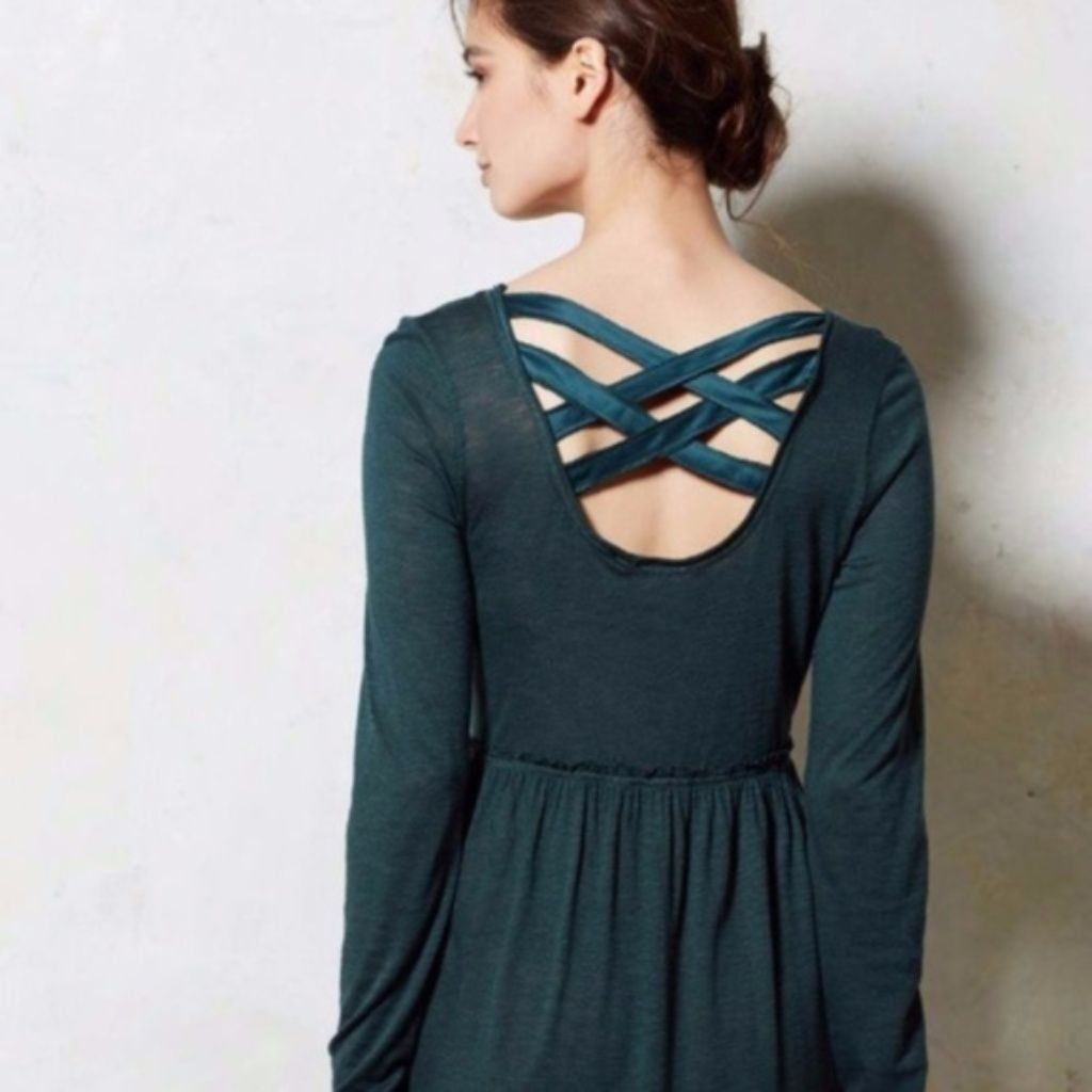 Anthropologie eloise long sleeve cutout dress products
