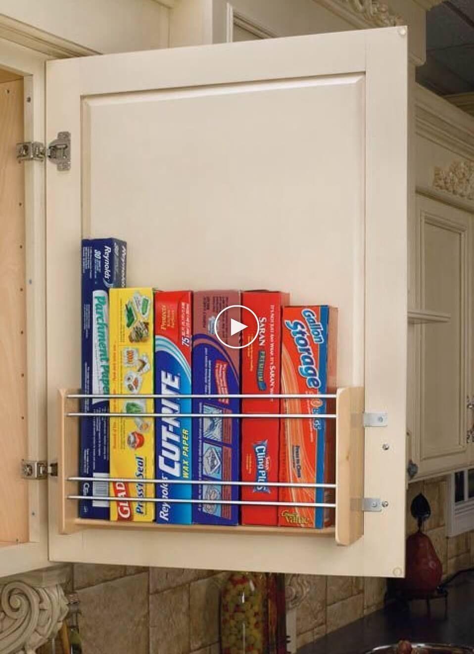 35 Ideas Practicas De Almacenamiento Para Una Pequena Organizacion De Cocinas In 2020 Small Kitchen Storage Diy Kitchen Storage Kitchen Organization