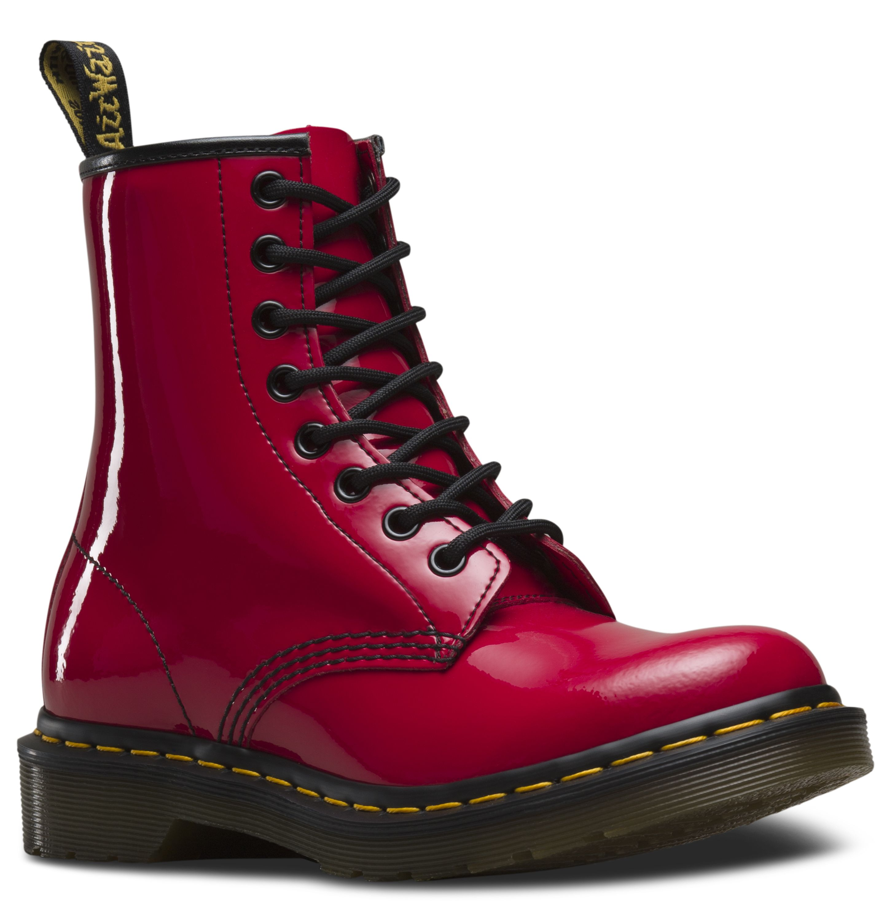 Dr martens 1460 women's patent leather lace up boots in 2020