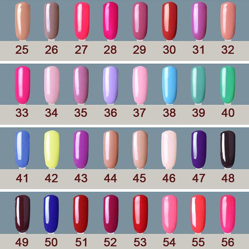 Popular ! 1Pcs CANNI UV/LED Soak Off Nail UV Gel Polish Varnishes ...