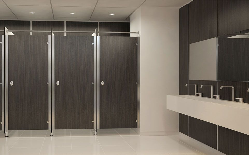Offices commercial washroom design lan services bathroom wow factor pinterest washroom - Washroom designs ...