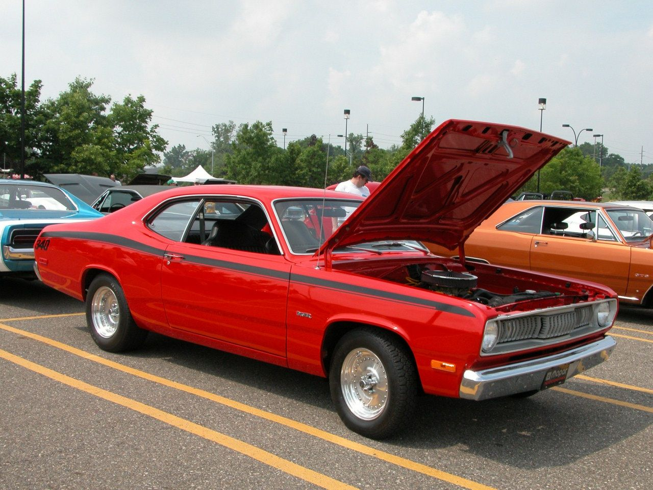 1972 Plymouth Duster 340 Red Fvr 2005 Cema Dscn5557 Plymouth Duster Mopar Muscle Cars Best Muscle Cars