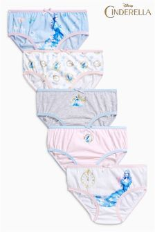 M/&S 5 Pack Cotton Stretch Womens Perfect Fit Thongs Uk 10-12