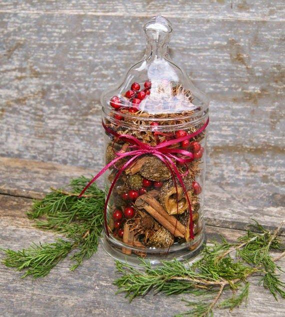 5 ideas de decoraci n navide a con frascos de apotecario for Decoracion christmas navidenos