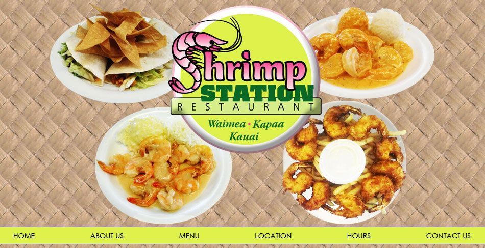 The Shrimp Station In Waimea And Kapaa Kauai Best Coconut