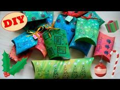 Tutorial: Scatoline Regalo Natalizie   Riciclo Creativo   DIY Christmas Gif Boxes